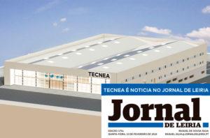 TECNEA é noticia no Jornal de Leiria